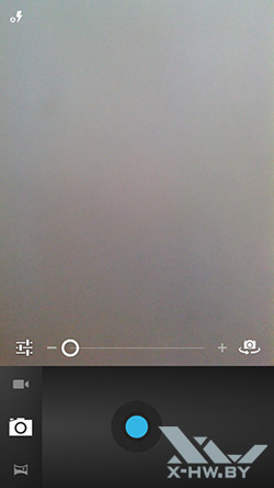 Интерфейс камеры Highscreen Boost. Рис. 1