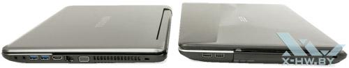 Acer Aspire E1-531G и Toshiba Satellite L950D
