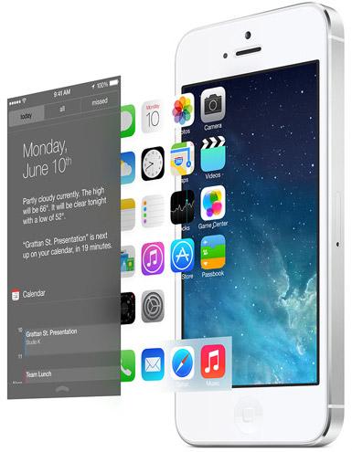 Интерфейс iOS 7