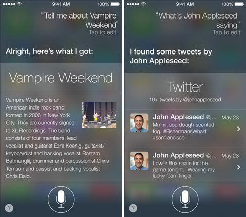 Siri в iOS 7. Рис. 2