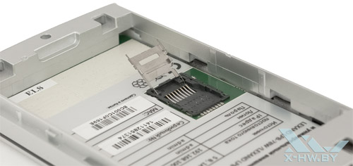 Слот для карточки microSD  Lexand LPB-52W