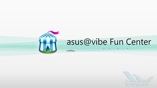 asus@vibe Fun Center на ASUS VivoTab RT