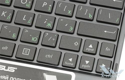 Стрелочная клавиатура на док-станции ASUS VivoTab RT