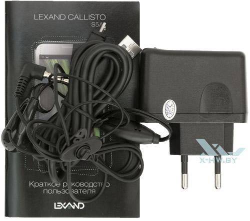 Комплектация Lexand Callisto