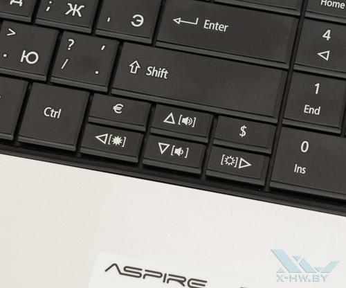 Стрелочная клавиатура Acer Aspire E1-531G