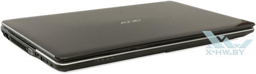 Acer Aspire E1-531G. Вид спереди