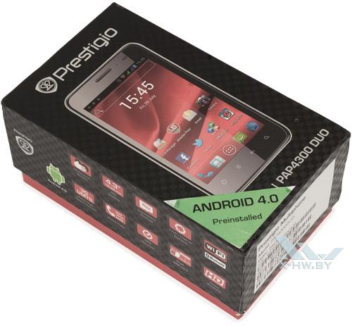 Коробка Prestigio MultiPhone 4300 DUO