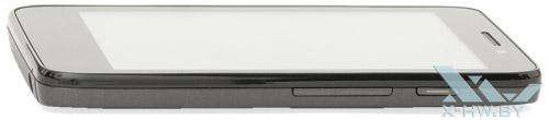 Правый торец Prestigio MultiPhone 4300 DUO