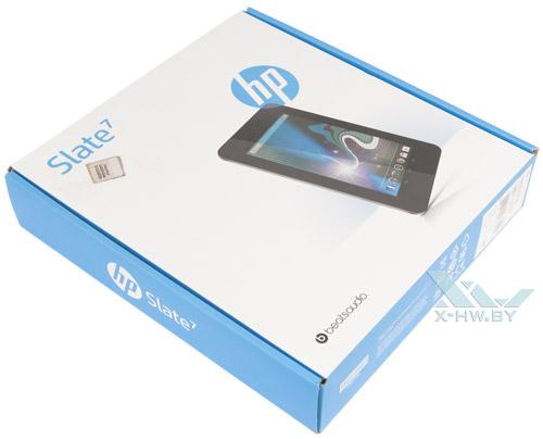 Коробка HP Slate 7
