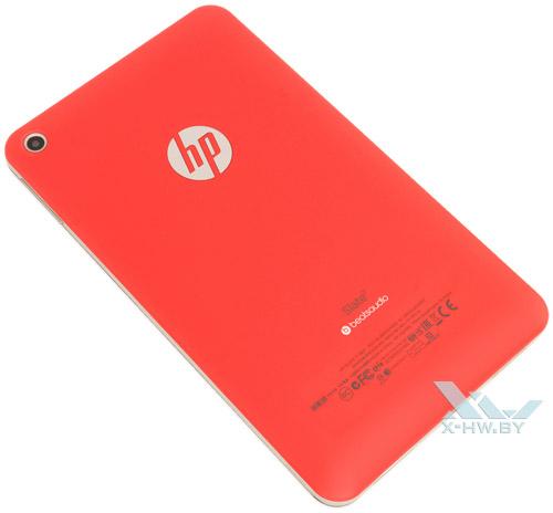 HP Slate 7. Вид сзади