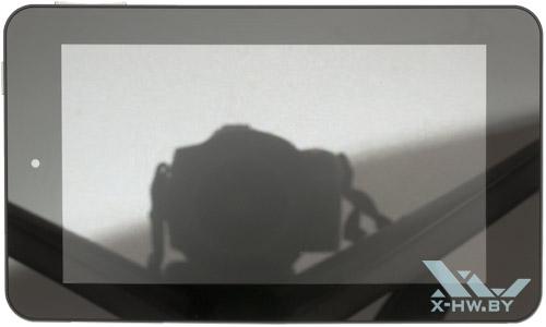 HP Slate 7. Вид сверху