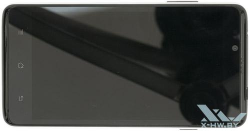 Highscreen Omega Prime XL. Вид сверху