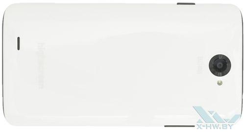 Highscreen Omega Prime XL. Вид сзади