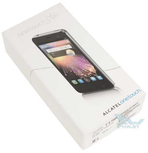 Коробка Alcatel One Touch Star
