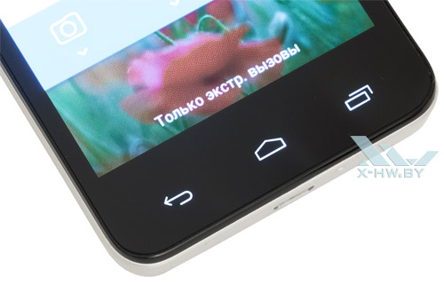 Подсветка кнопок Alcatel One Touch Star