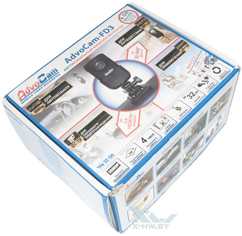 AdvoCam-FD3. Коробка
