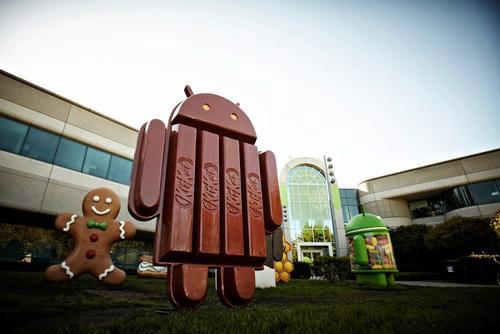 Логотип Android 4.4