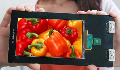 5,5-дюймовый экран LG разрешением 2560х1440