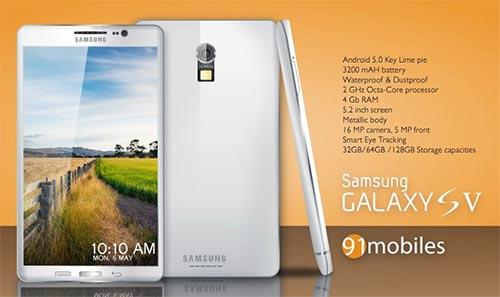 Характеристики Samsung Galaxy S5