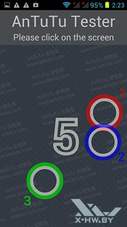 Число касаний, распознаваемых экраном Star S9300