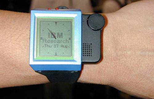 Часы IBM WatchPad 1.5. Рис. 1