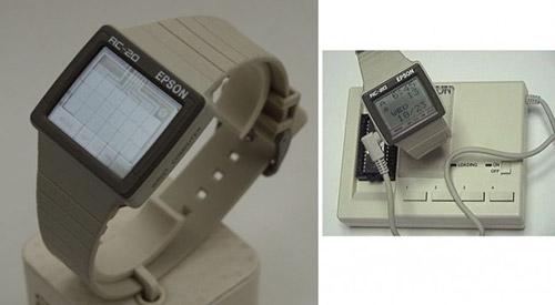 Часы Seiko Epson RC-20 Wrist Computer