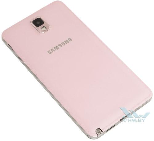 Задняя крышка розового Samsung Galaxy Note 3