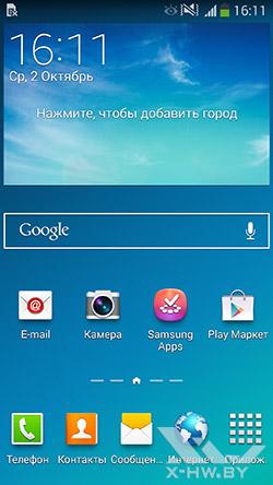 Рабочий стол Samsung Galaxy Note 3. Рис. 1