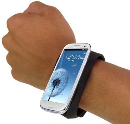 Galaxy S III на руке
