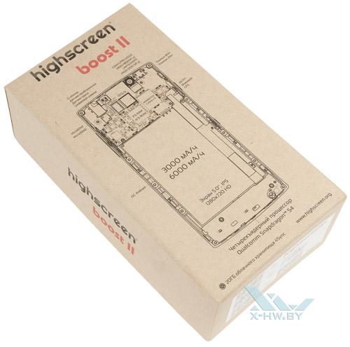 Коробка Highscreen Boost II