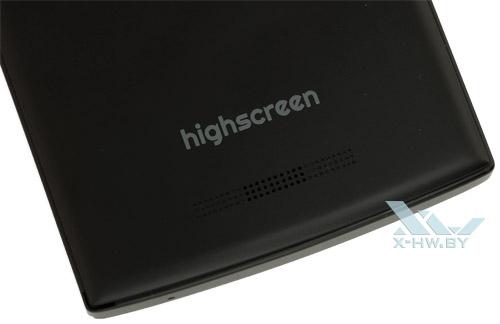 Динамик на задней крышке Highscreen Boost II