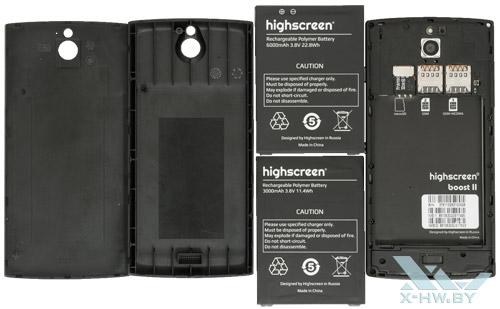 Крышки и аккумуляторы Highscreen Boost II