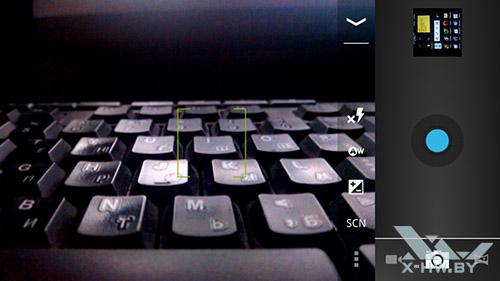 Интерфейс камеры Highscreen Boost II