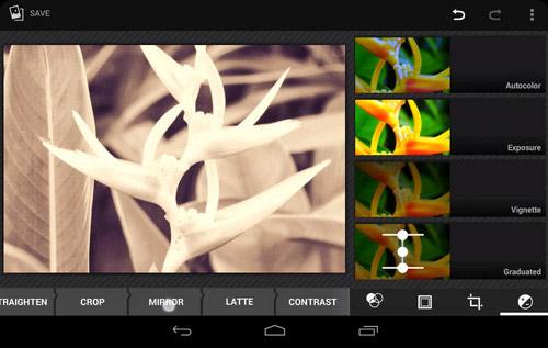 Графический редактор в Android 4.4