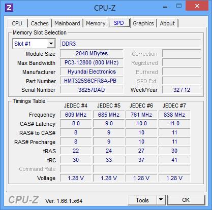 Модуль памяти Fujitsu LIFEBOOK AH502