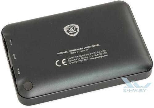 Prestigio PCB01080BK. Вид снизу