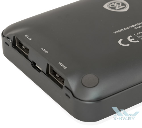 Разъемы USB и индикатор на Prestigio PCB01080BK