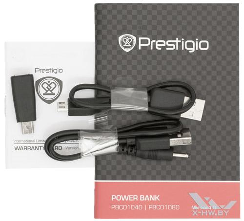Комплектация Prestigio PCB01080BK