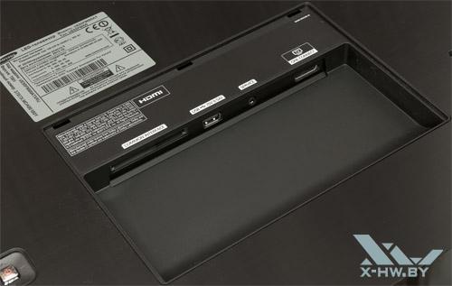 Разъемы Samsung UE55F9000AT