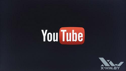 Приложение YouTube на Samsung UE55F9000AT. Рис. 1