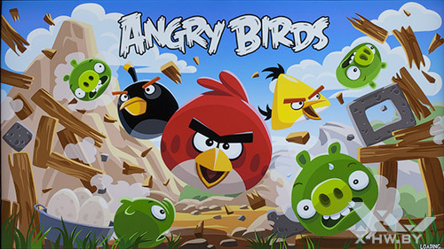 Angry Birds на Samsung UE55F9000AT. Рис. 1