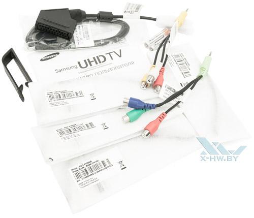 Комплектация Samsung UE55F9000AT