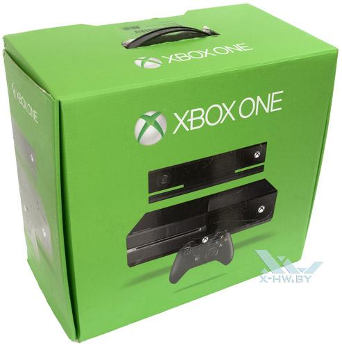 Коробка Microsoft Xbox One