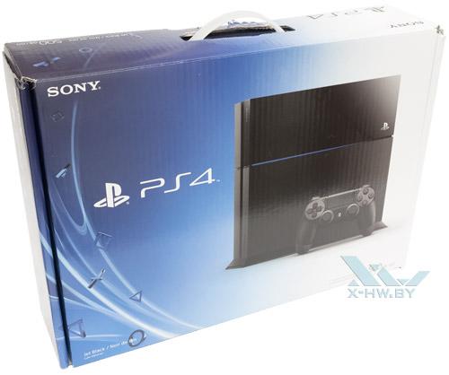 Коробка Sony PlayStation 4