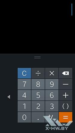Калькулятор на Galaxy Note 3 Neo