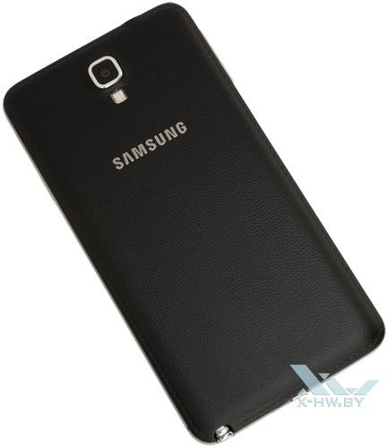 Samsung Galaxy Note 3 Neo. Вид сзади