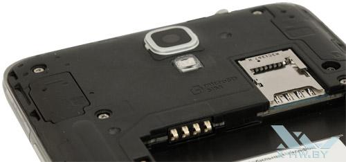 Разъем для SIM-карты и карты microSD на Samsung Galaxy Note 3 Neo