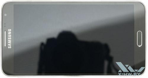 Samsung Galaxy Note 3 Neo. Вид сверху