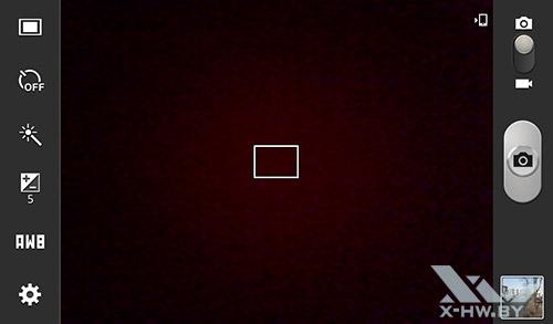 Интерфейс камеры Samsung Galaxy Tab 3 Lite