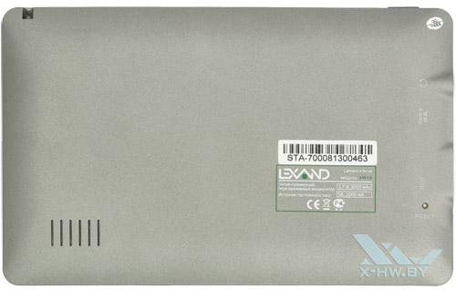 Задняя крышка Lexand STA-7.0